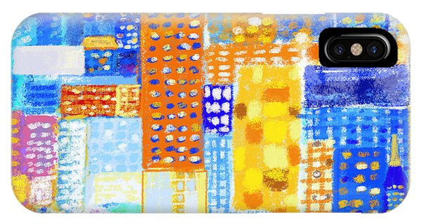 Repeat iPhone Case - Abstract City by Setsiri Silapasuwanchai