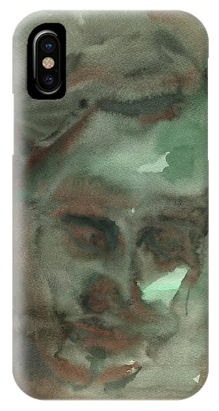 Abstract Figurative iPhone Case - Abstract Face by Juan Bosco