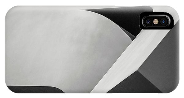 Abstract In Black And White IPhone Case