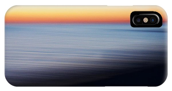 Visual Illusion iPhone Case - Abstract Sky And Water by Tony Cordoza