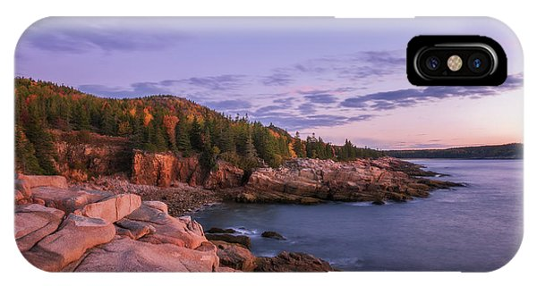 IPhone Case featuring the photograph Acadia Sunrise by Sharon Seaward