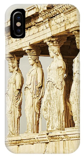Greece iPhone X Case - Acropolis Of Athens by HD Connelly
