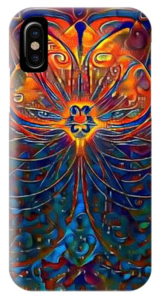 iPhone Case - Aflame by Amanda Moore