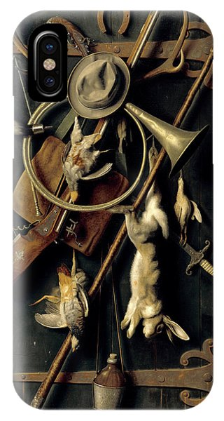 Illusion iPhone Case - After The Hunt by William Michael Harnett