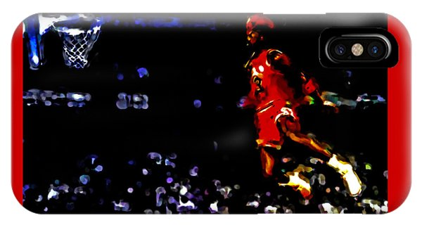 Air Jordan In Flight Iv IPhone Case