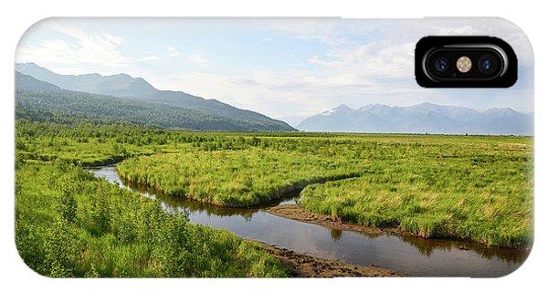Alaskan Valley IPhone Case