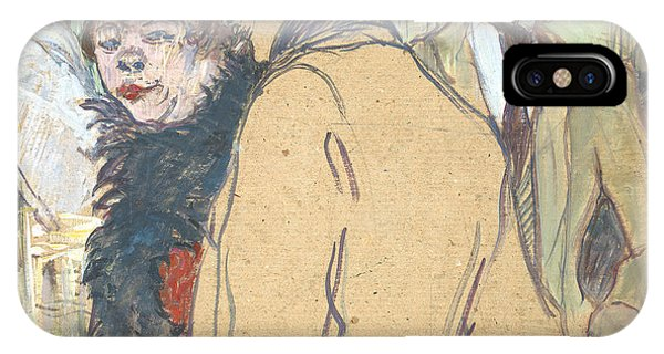 Pub iPhone Case - Alfred La Guigne by Henri de Toulouse-Lautrec