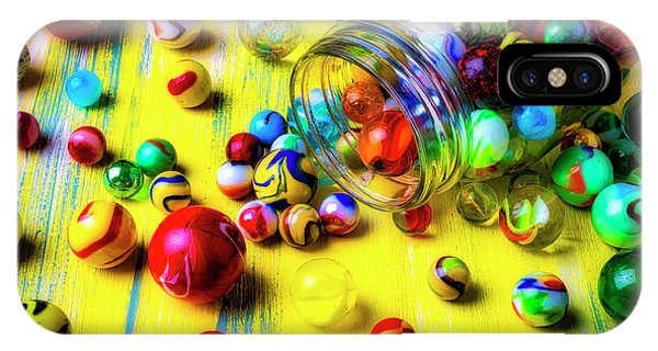 Novelty iPhone Case - All My Marbles by Garry Gay