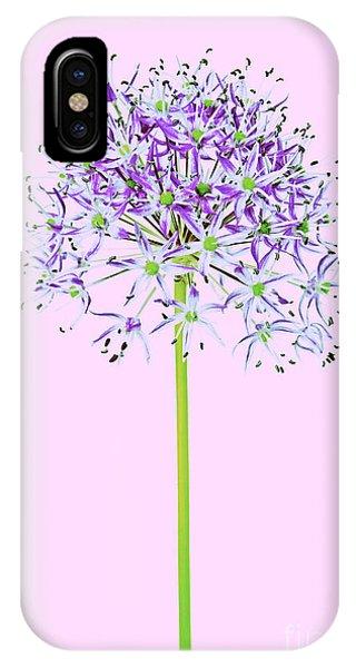 iPhone Case - Allium by Tony Cordoza
