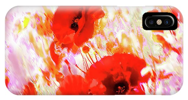 Amapolas IPhone Case