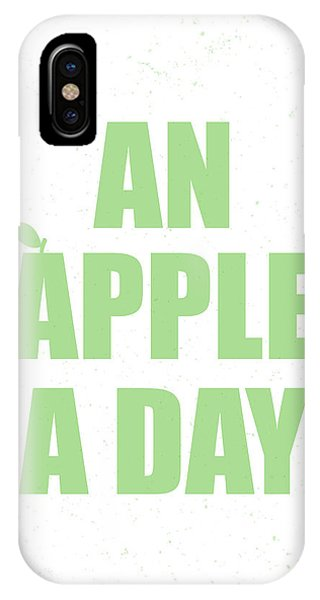Thought iPhone Case - An Apple A Day by Samuel Whitton