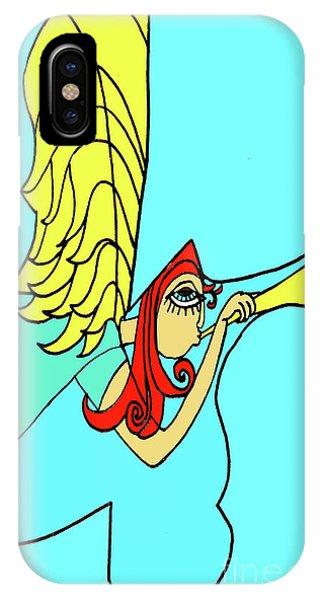 Angel Tess IPhone Case