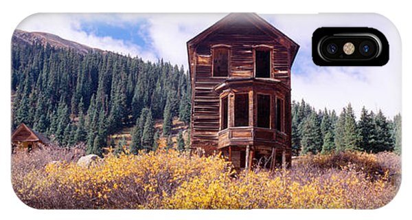 Anima iPhone Case - Animas Forks Ghost Town, Colorado by Panoramic Images