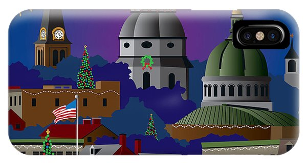 Annapolis Holiday IPhone Case