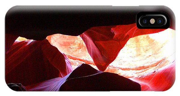 Antelope Slot Canyon - Astounding Range Of Colors IPhone Case