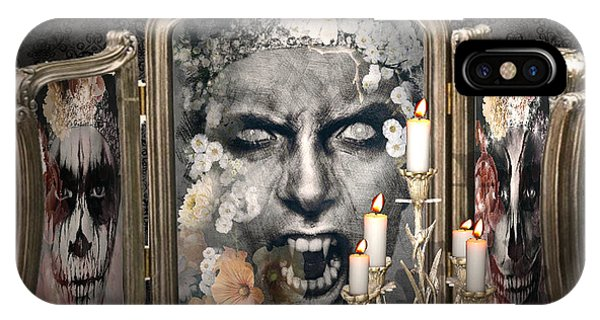 Antique Vampire Paintings IPhone Case