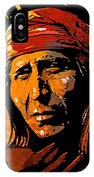 Apache Warrior IPhone Case