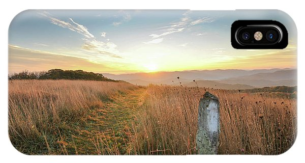 Appalachian Trail Sunrise IPhone Case