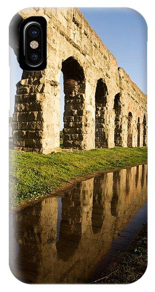 Aqua Claudia Aqueduct IPhone Case