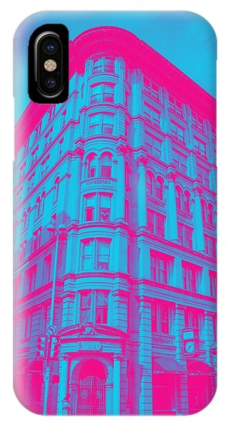 Moscow Skyline iPhone Case - Archtectural Building by Celestial Images