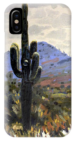 Cactus iPhone Case - Arizona Icon by Donald Maier