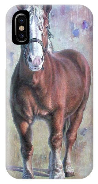 Arthur The Belgian Horse IPhone Case