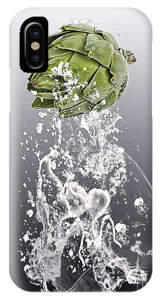 Artichoke Splash IPhone Case
