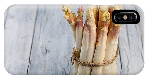Fresh iPhone Case - Asparagus by Nailia Schwarz