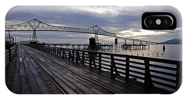 Astoria-megler Bridge 4 IPhone Case