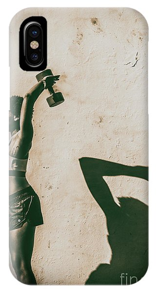 Athletic Woman IPhone Case