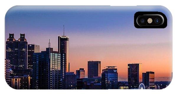 Atlanta Sunset IPhone Case