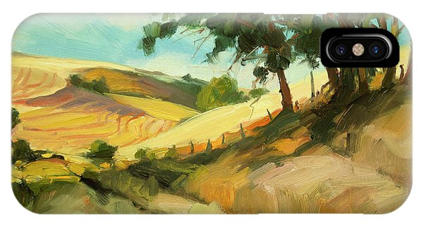 Ranch iPhone Case - August by Steve Henderson