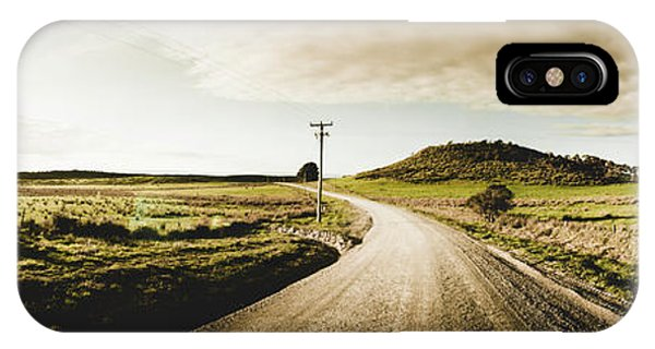 Rural iPhone Case - Australian Rural Road by Jorgo Photography - Wall Art Gallery