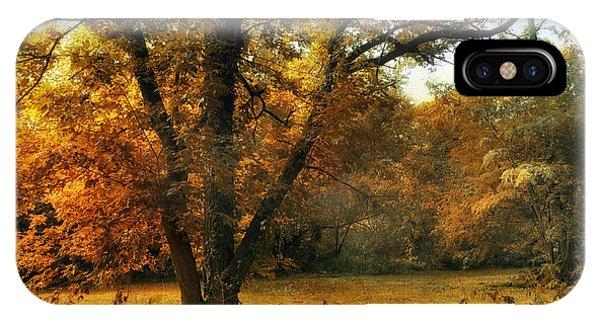 Autumn Arises IPhone Case