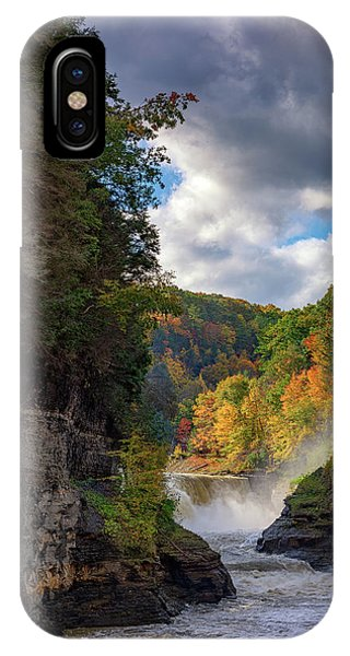 Autumn At The Lower Falls II IPhone Case