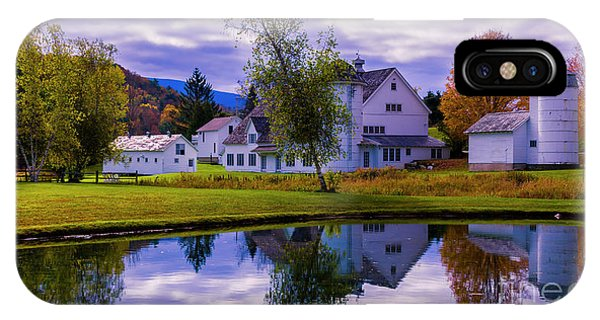 Autumn In Arlington Vermont IPhone Case