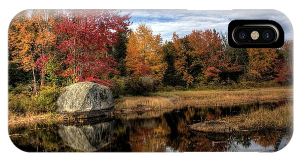 Autumn In Maine IPhone Case