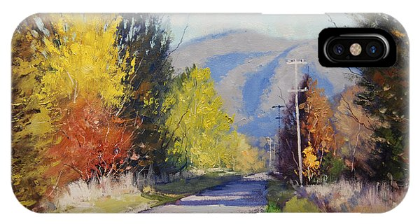 Amber iPhone Case - Autumn In Tumut by Graham Gercken