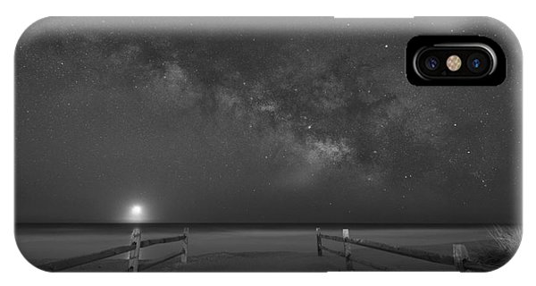 Avalon New Jersey Milky Way Rising  IPhone Case