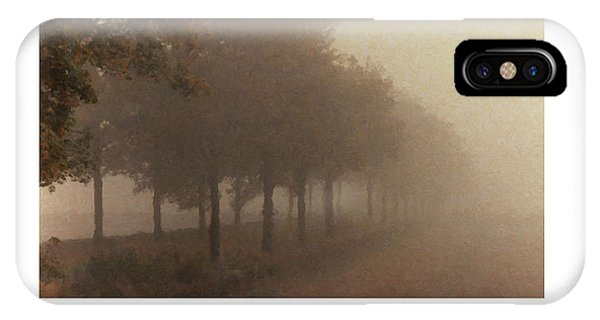 Avenue Des Arbres IPhone Case