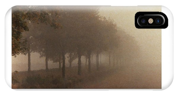 IPhone Case featuring the digital art Avenue Des Arbres by Julian Perry