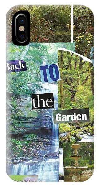 Back To The Garden IPhone Case