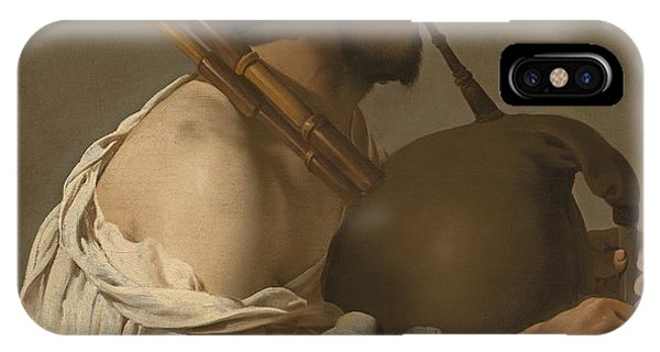 Bagpipe Player IPhone Case