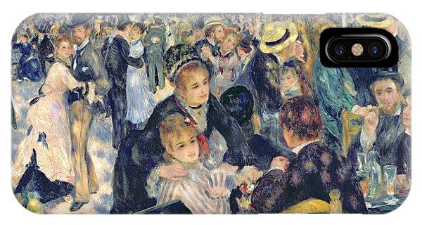 Dance iPhone Case - Ball At The Moulin De La Galette by Pierre Auguste Renoir