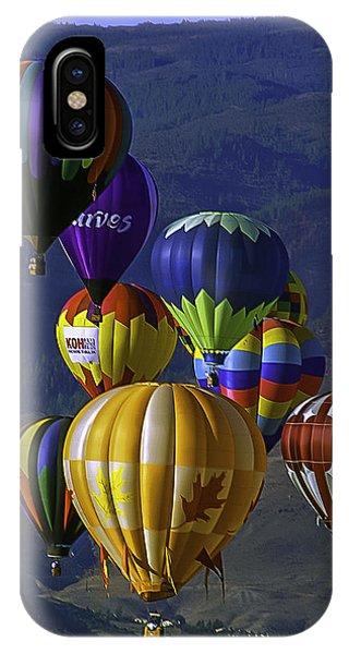 Balloons Over Reno IPhone Case