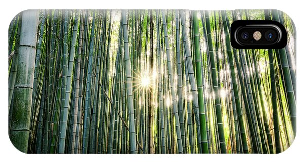 Bamboo Forest At Arashiyama IPhone Case
