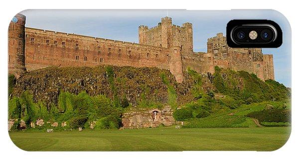 Castle iPhone X Case - Bamburgh Castle by Smart Aviation