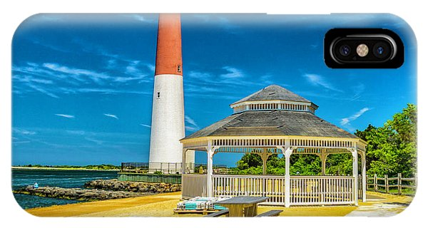 Barnegat Lighthouse Park IPhone Case