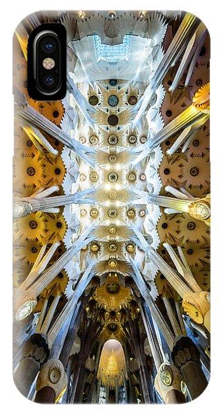 Basilica De La Sagrada Familia IPhone Case