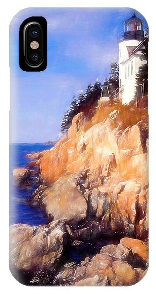 Bass Harbor Lighthouse,acadia Nat. Park Maine. IPhone Case